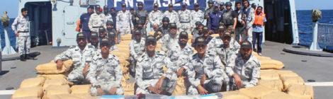 ВМФ Пакистана  борется с  наркоторговцами