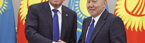 Kazakhstan, Kyrgyzstan  Improve Relations
