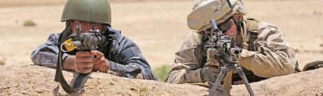 Commanding Jordanian Marines