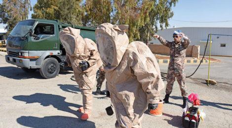 Jordan guards against WMD