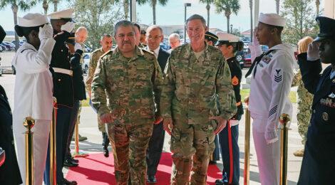 Uzbek Defense Minister Meets U.S. Military Leaders