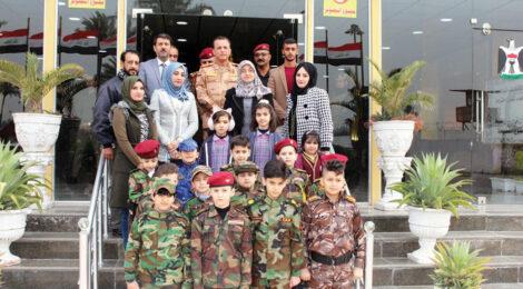 مدیران استخبارات عراق میزبان متعلمین
