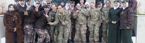 Jordan Enlists Military Nurses