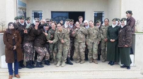 Jordan Enlists Military Nurses