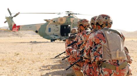 Omanis Achieve Training Objectives