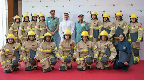 UAE certifies female firefighters
