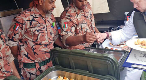 Oman Army Claims Title of Top Chef