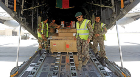 Aiding Afghanistan by air