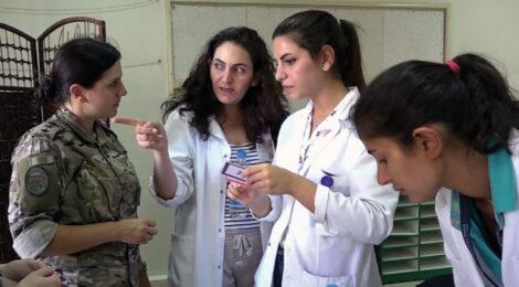 د لبنان سرتیري بشردوستانه مرستې چمتو کوي