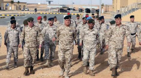 تاسیس شهرک تعلیم نظامی در اردن